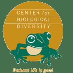 Logo for the Center for Biological Diversity