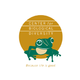 Logo for the Center for Biological Diversity
