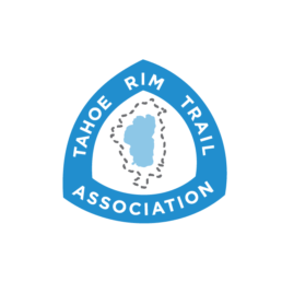 Logo for the Tahoe Rim Trail Association