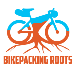 Logo for Bikepacking Roots.