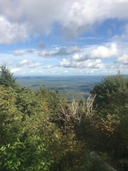 A view from the Appalachian Trail.