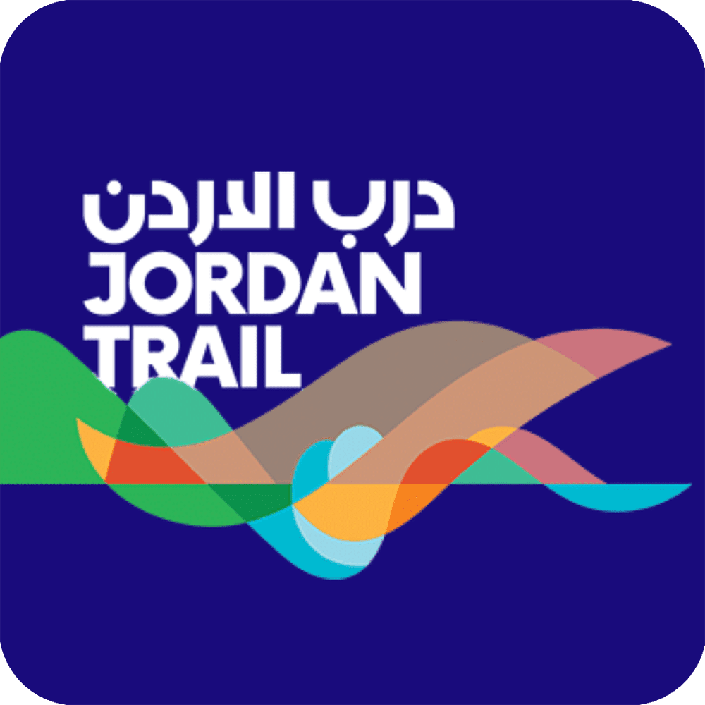 An app icon for the Jordan Trail.