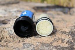 A look inside a Sawyer water filter.