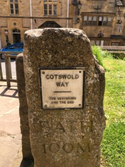 Cotswold Way sign