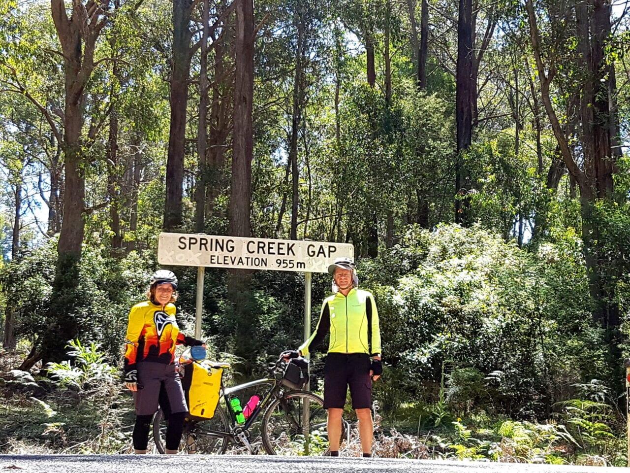 Two bikers in Australia.